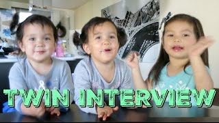 Download Interview of the Twin Sisters! - itsMommysLife Video