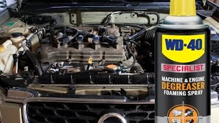 Download Safely Clean and detail your engine bay without water using WD-40 Specialist Degreaser Video