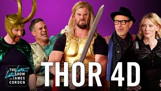 Download Thor: Ragnarok 4D w/ the 'Thor' Cast Video