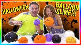 Download MAKING HALLOWEEN BALLOON SLIME | We Are The Davises Video
