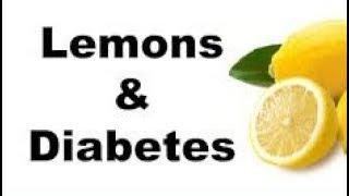 Download Lowering blood sugar with lemons Video
