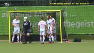 Download 1. Feldhockey-Bundesliga Herren HTCU vs. RWK 1:8 21.06.15 Video