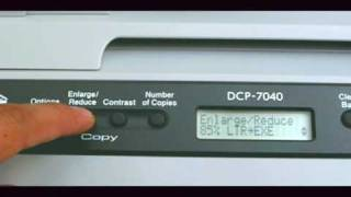 Download Brother DCP7040 Video