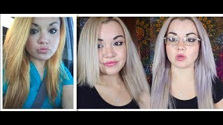 Download How To Fix Orange Hair (Wella T18 Toner VS Purple Shampoo) Video