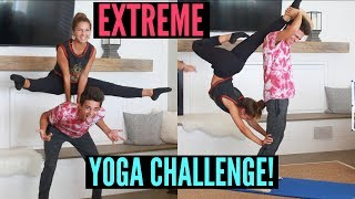 Download EXTREME Yoga Challenge with my Sister!! | Brent Rivera Video