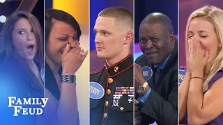 Download TOP 5 EPIC BUZZER BREAKDOWNS!! | Family Feud Video