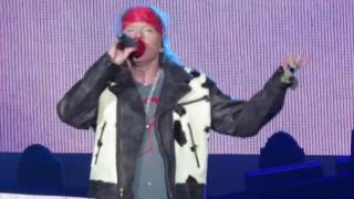 Download Guns N´Roses Don´t Cry Live Chile 2016 Multicam Full HD Video