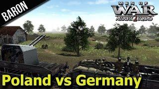 Download Blitzkrieg! Germany Invades Poland! (Men of War Assault Squad 2 - Mokra 1939 Polish Defense) Video