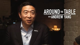 Download Andrew Yang talks stereotypes, economic policies at dinner with voters l ABC News Video