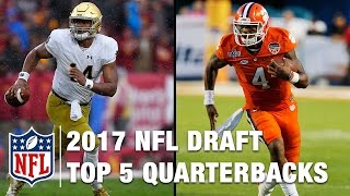 Download Top 5 Quarterbacks in the 2017 NFL Draft | Bucky Brooks | Move the Sticks Video