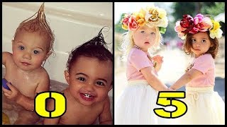 Download Everleigh and Ava From Baby to Child Video