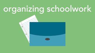 Download organizing schoolwork Video
