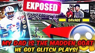 Download MY DAD IS THE NEXT PRO MADDEN PLAYER! MY DAD GOT GLITCH PLAYS LOL! | MADDEN 17 ULTIMATE TEAM Video