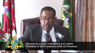 Download Statement by the President of Dominica Video