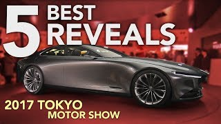 Download Top 5 Car Reveals from the 2017 Tokyo Motor Show Video