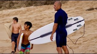 Download A Cymatic Session with Kelly Slater in Hawaii Video