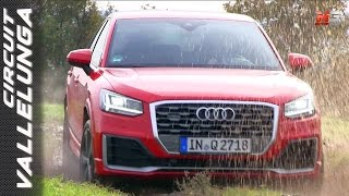 Download NEW AUDI Q2 QUATTRO 2017 - FIRST TEST ONLY SOUND VALLELUNGA CIRCUIT - OFF ROAD AND DRIVING TESTS Video