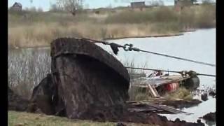 Download Подъем танка Т-34 в Зеленкино - полное видео Video