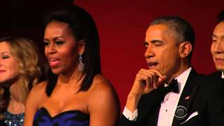 Download Aretha Franklin Brings President Obama To Tears Performing At Kennedy Center Honors Video