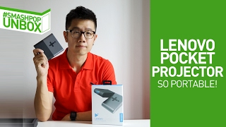 Download It used to be SO BIG! #smashpopUnbox Lenovo Pocket Projector Video