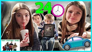 Download 24 HOURS OVERNIGHT IN VEHICLE CHALLENGE / That YouTub3 Family Video