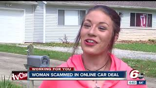 Download Woman scammed in online car deal Video