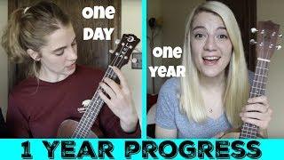 Download My ukulele progress after 1 year! Video