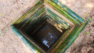 Download Primitive Tool : searching for groundwater (water well) Video