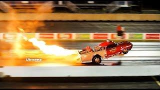 Download 1800+ FT! WHEELSTANDING '50 STUDEBAKER FIRE TRUCK! at RT66 CLASSIC Video