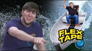 Download Waterproofing My Life With FLEX TAPE - JonTron Video