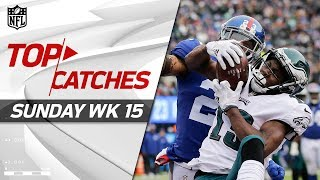 Download Top Catches from Sunday | NFL Week 15 Highlights Video