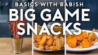 Download Big Game Snacks | Basics with Babish Video