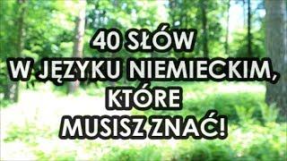 Download 40 najważniejszych słów w języku niemieckim Video