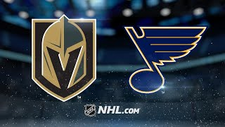 Download Stastny, Hutton lead Blues past Vegas for 2-1 victory Video