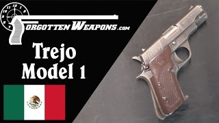 Download Trejo Model 1 Machine Pistol: Shooting and History Video