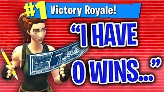 Download PRETENDING TO HAVE 0 WINS THEN CARRYING KIDS IN FORTNITE!! Video