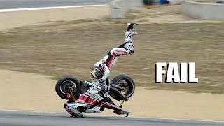 Download AMAZING FAIL & CRASH COMPILATION OF MOTORCYCLE - BEST EVER COMPILATION !!! Video