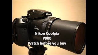 Download Nikon Coolpix P900 (2000mm optical Zoom) watch before you buy Video