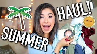 Download Huge Summer Haul - Clothes, Makeup, Shoes, Jewelry! (Try On Haul) Video