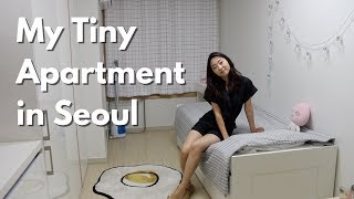 Download My Tiny Seoul Apartment (officetel) Tour | $500/month 200sqft Video