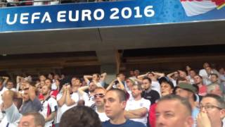 Download England Fans Sing ″You're Not Fit To Wear The Shirt″ Euro 2016 - Iceland Defeat In Nice Video