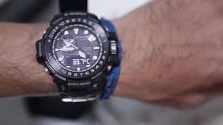 Download Casio G shock Gulfmaster GWN 1000B 1A Video