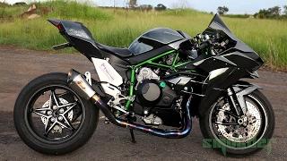 Download Kawasaki Ninja H2 - TOP SPEED! Video