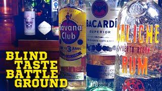 Download Blind Taste Battleground: Havana Club, Bacardi, Caliche / Episode 001 Video