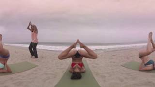 Download VR Bikini Yoga - Venice - Lesson 5: Groundwork Video