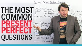 Download 21 Common Present Perfect Questions in English Video