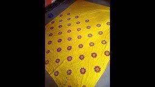 Download Hand embroidery nakshi kantha desig, Hand made/stitch nakshi kantha of Bangladesh Video