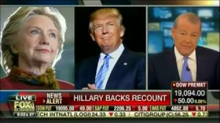 Download HILLARY CLINTON BACKING A RECOUNT, IN SPITE PREVIOUSLY CRITICIZING RECOUNTS, HERSELF Video