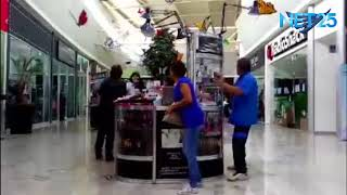 Download Exclusive footage inside Pabellón Cuauhtémoc mall in Mexico as 7.1 earthquake terrfied shoppers. Video