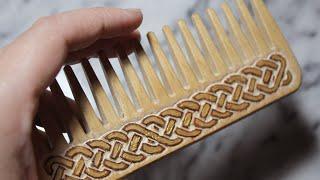 Download DIY Celtic Carved Comb Video